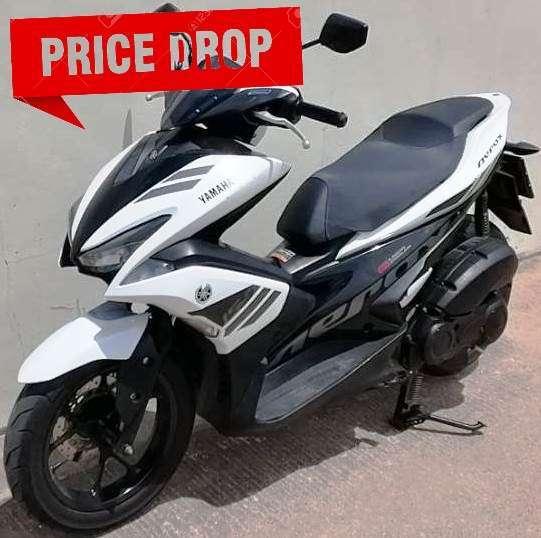08/2017 Yamaha Aerox 155 42.900 ฿ Finance by shop