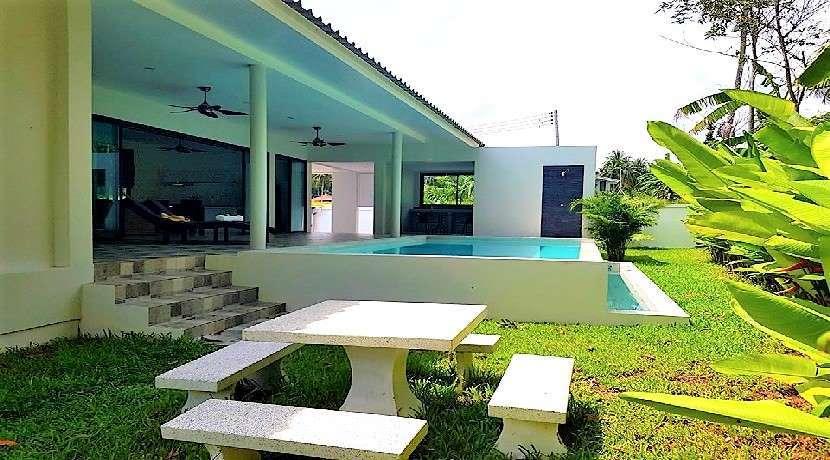 For sale 2 villas + land in Namuang Koh Samui