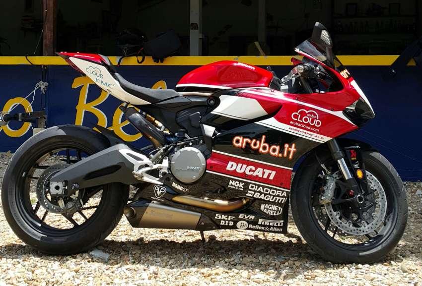 2015 Ducati 899 Limited Edition