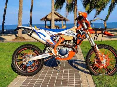 2018 KTM 500cc 6 day