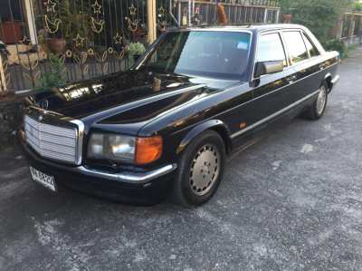 Mercedes Benz 560SEL 1987 Full House