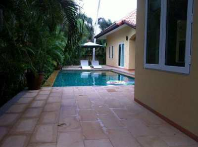 Pool villa house with private swimming pool in Huay Yai