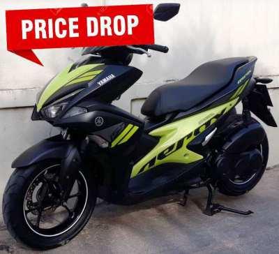 01/2018 Yamaha Earox 155 39.900 ฿ Finance by shop