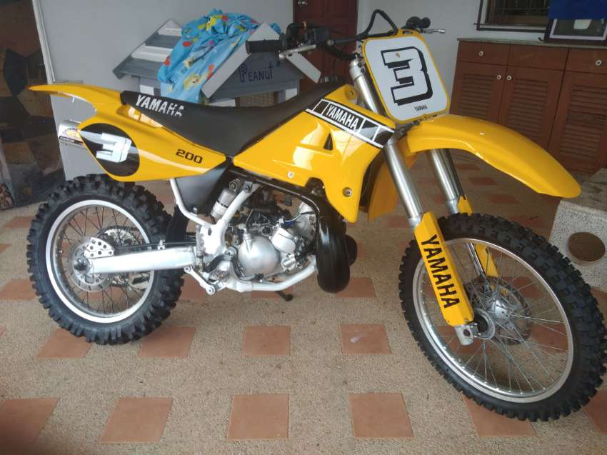 Beautiful 1993 Yamaha DT200WR 2-Stroke Dirtbike