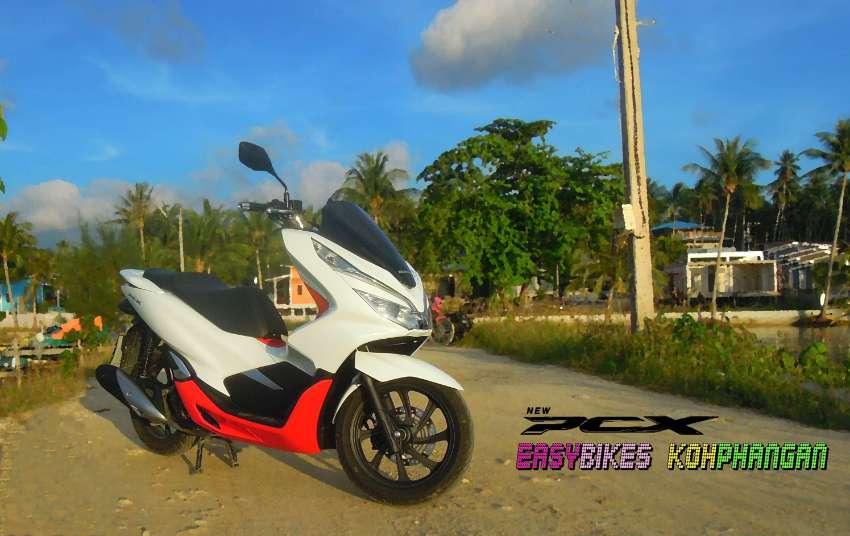 Motorbike trade and rental for sale in Koh Phangan