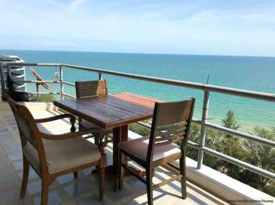 Amazing ocean views from the 16th floor in The Royal Rayong...