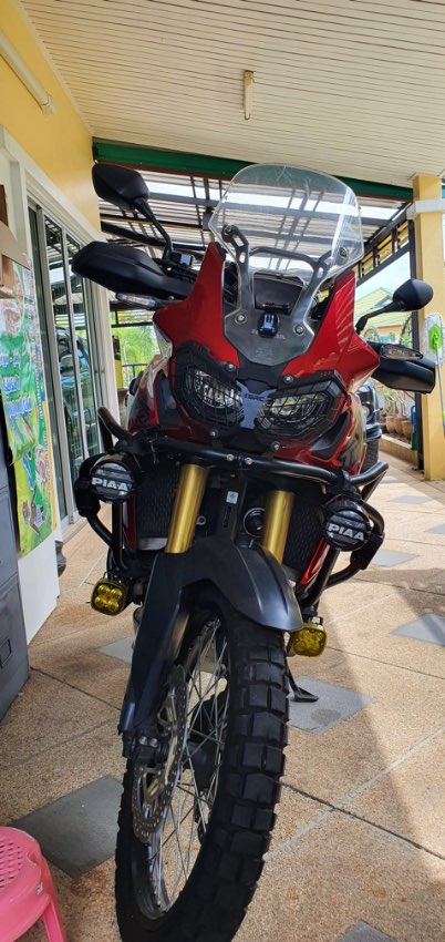 2017 Africa Twin DCT