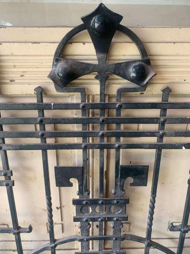 Antique window/door fence