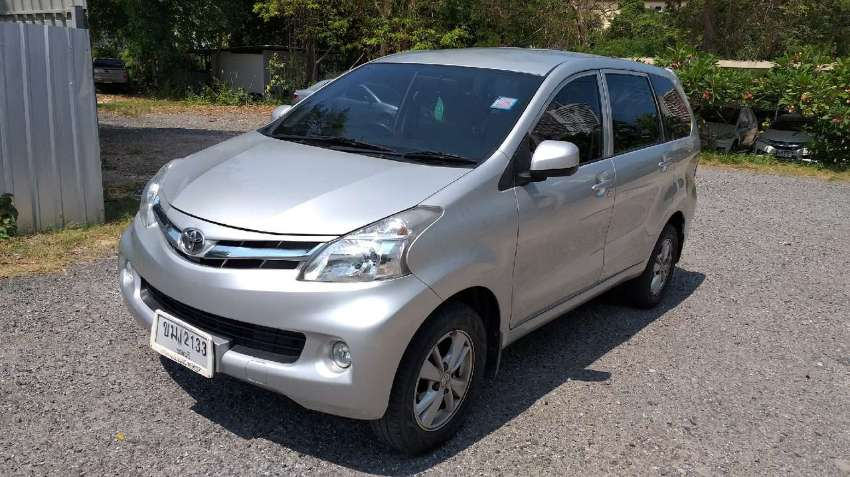 sell Toyota Avanza G, 7 places, 2014  Owner from the new