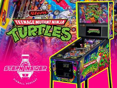Original Pinball Stern TMNT: Teenage Mutant Ninja Turtles