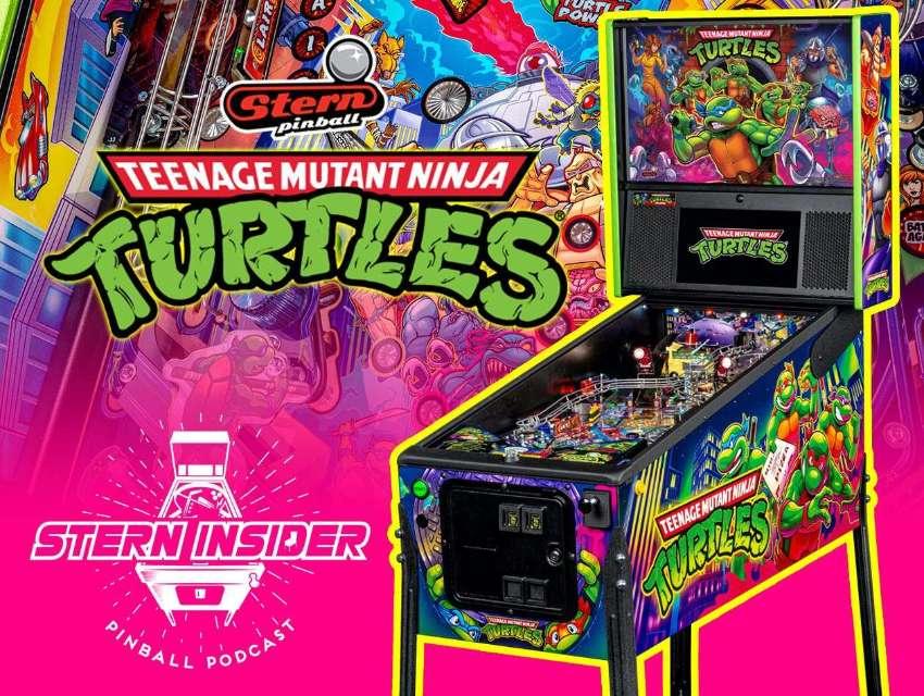 Original Pinball Stern TMNT: Teenage Mutant Ninja Turtles