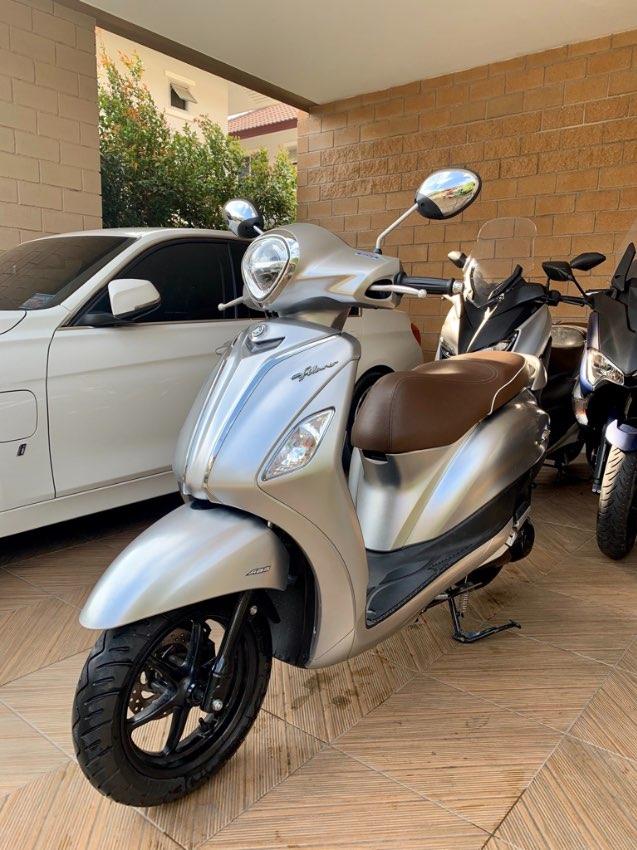 Yamaha grand filano hybrid 125cc abs