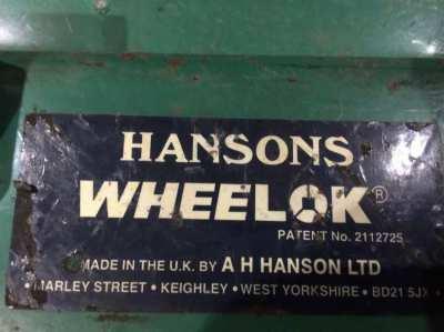 Hansons VGP11 wheel clamp
