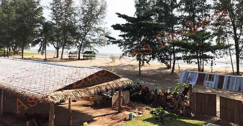 6707001 Large Beachfront Land in Tha Chana, Surat Thani for Rent