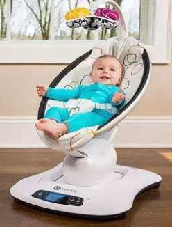 Smart Baby Rocking Cradle Chair Bluetooth 4moms Mamaroo