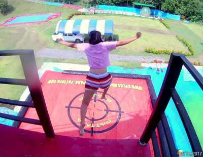 Big inflatable Air Bag Airbag Jump Sport