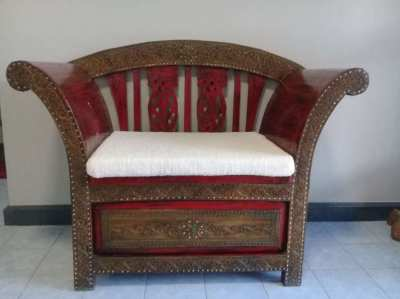 Traditional Thai chair.
