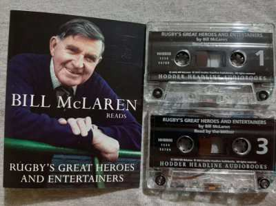 Bill McLaren reads Rugby's Great Heroes and Entertainers