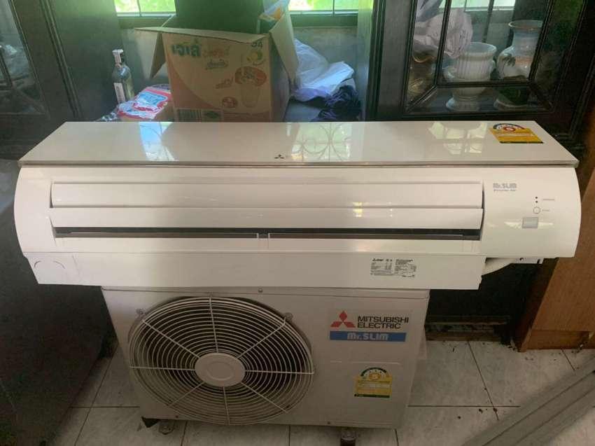 MITSUBISHI air conditioner 18000 btu 3 years