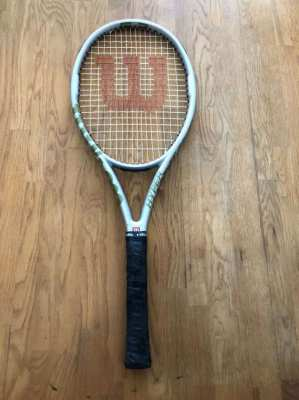 Wilson Hyper Hammer 5.3 Tennis Racket (Silver)