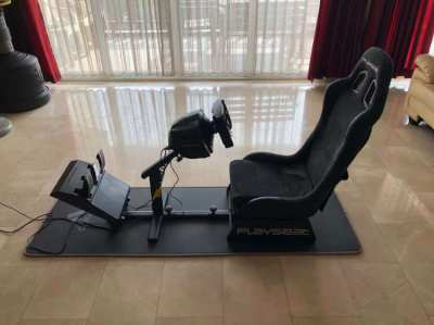 Thrustmaster T300 RS / Ferrari F1 Wheel / Playseat Evolution Alcantara