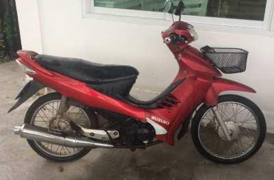 Suzuki 125cc semi-automatic scooter