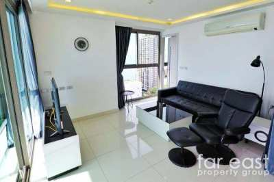 Wongamat Tower - Front 2 Bedroom On High Floor