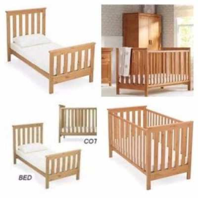 Mothercare cot and bed