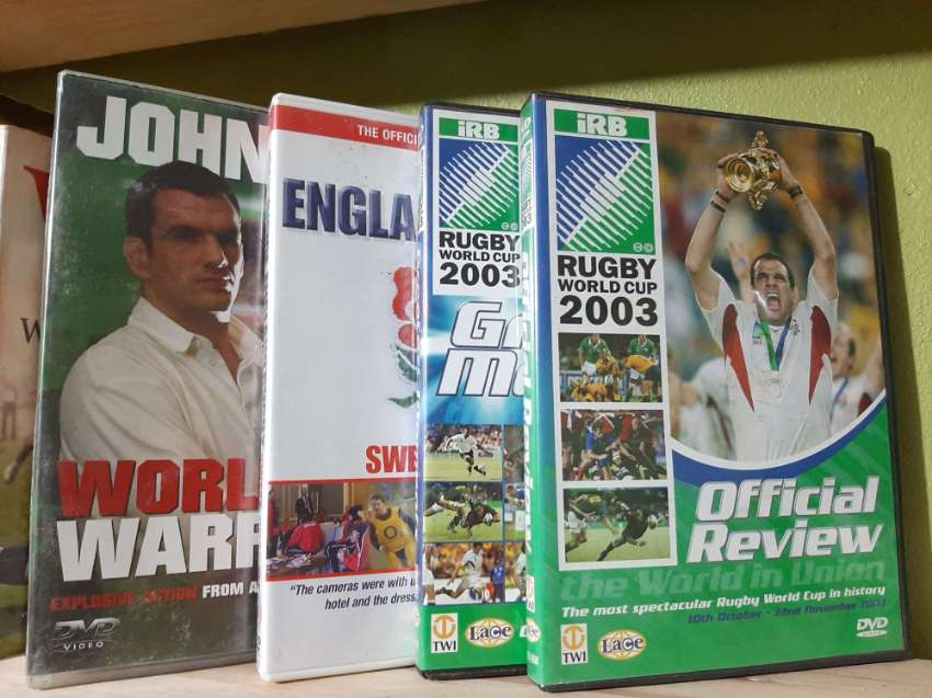 2003 Rugby World Cup - 4 Historical DVDs