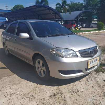 Toyota Vios E A/t year 2006 low mileage
