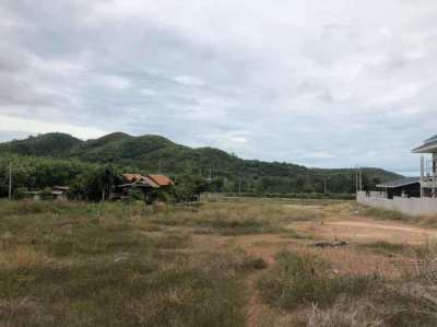 near golf course land for sale at Sattahip 180 Sq.wah(By owner)