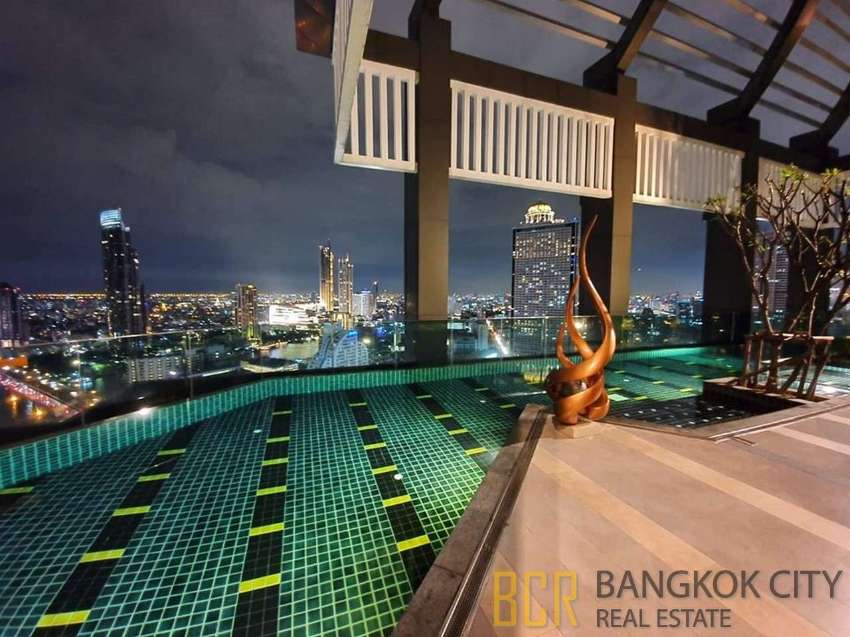 Rhythm Sathorn 21 Ultra Luxury Condo Furnished 1 Bedroom Unit for Rent