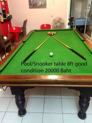 Pool table 8ft