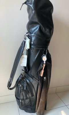 Golf Cart Bag - Quality original Leather Handmade