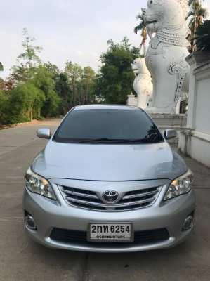 ขายรถบ้านเชียงใหม่ใช้เอง TOYOTA ALTIS รุ่น 1.6G ปี 2013