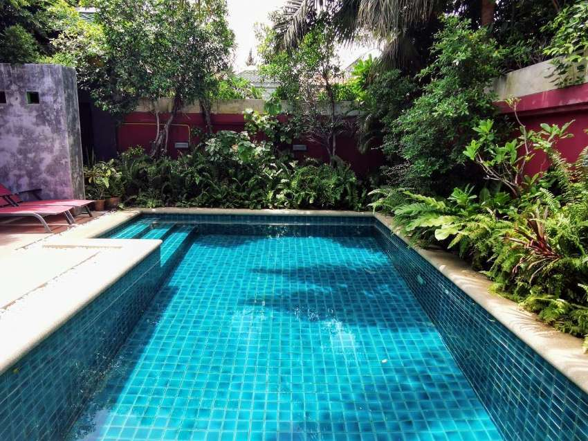 2 Bedroom pool villa in modern Thai style for rent and for sale.