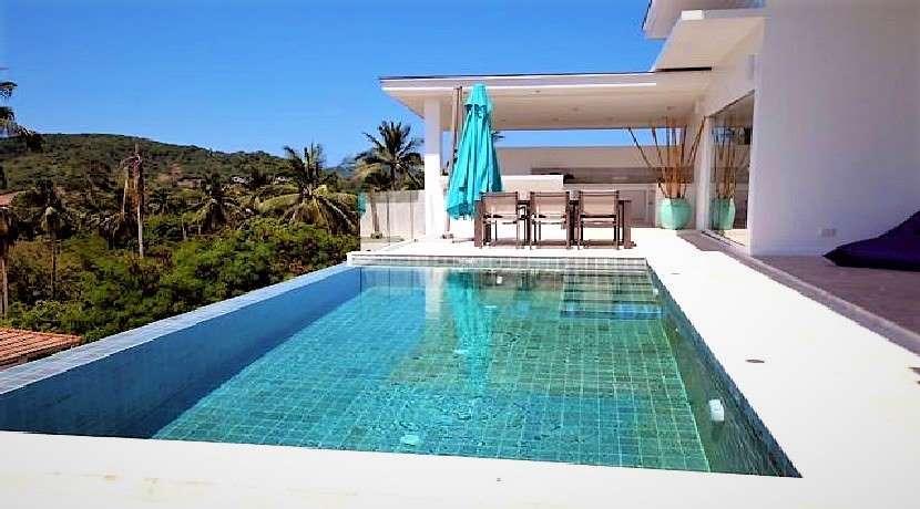 Stunning Sea View Pool Villa for sale in Bophut Hills Koh Samui