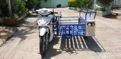 Honda Wave with Saleng