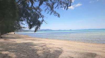 For sale beachfront Land in Laem Yia Koh Samui