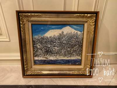 Beautifully framed oil paintings