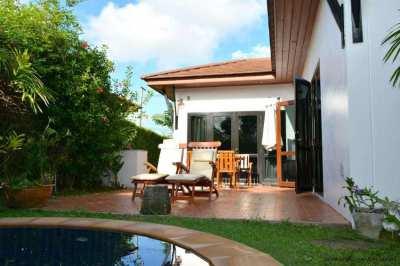 2 bedroom beach house in VIP Chain Resort on Mae Ramphueng beach