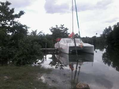 Boat docking - mooring