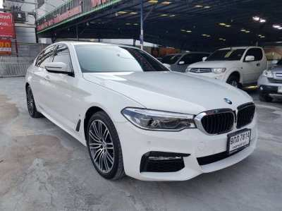 2019 BMW 530e 2.0AT G30 M Sport Plug in Hybrid White color