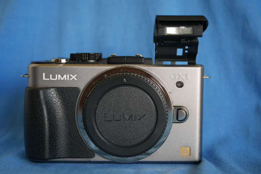 Panasonic Lumix DMC-GX1 Digital Camera Body, GX1