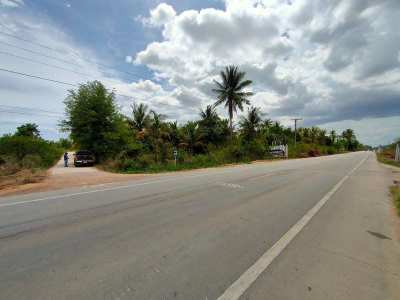 Negotiable! Great 5 Rai Corner Plot on Main Road with 3 Phase Electric