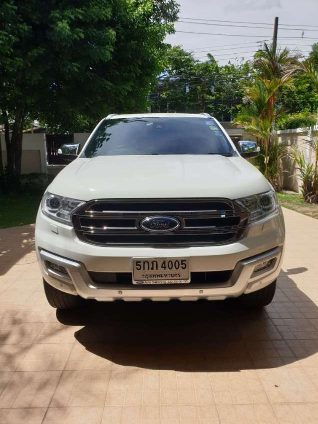 2016 Ford Everest Titanium 2.2 Automatic transmission low KM 33,200