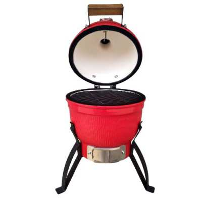 13 Inch Kamado Grill BBQ (RED)