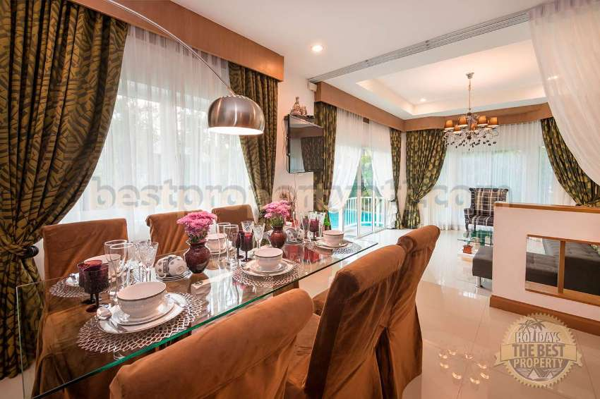 House with Private Pool in Bangsaray, 5-minute drive from the Sea