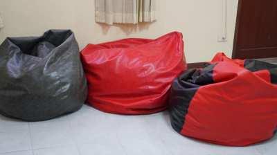 Beanbag Red PVC