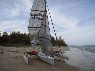 WETA Trimaran -- Reduced